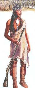 Pequot Warrior - Osprey Book I