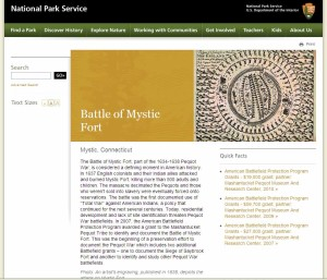 NPS ABPP Mistick Fort screenshot